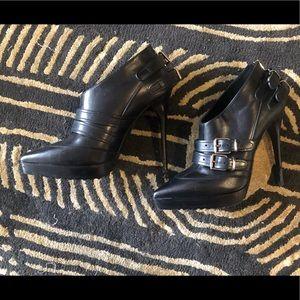 Burberry Ankle Platform Heels